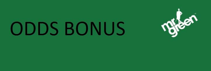 Mr Green oddsbonus ger dig 5000 kr vinstboost