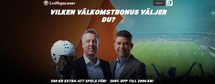 Hämta Sveriges största oddsbonus 2018
